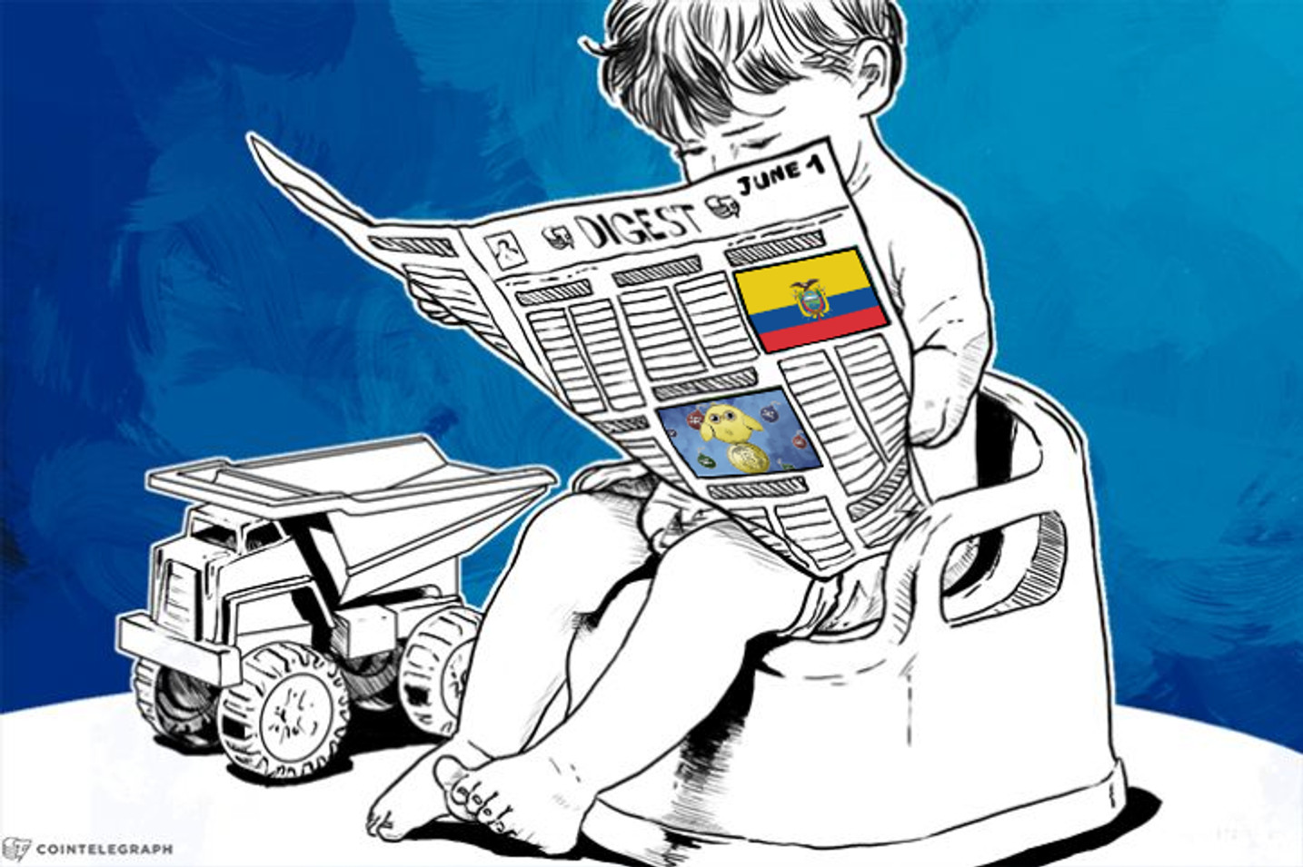 JUN 1 DIGEST: Ecuador Orders Banks to Adopt State Digital Currency, Playboy Writes About Bitcoin