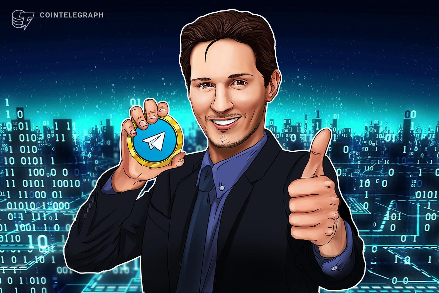 """Telegram lancerà una """"versione di test"""" della piattaforma blockchain TON """"quest'autunno"""", sostengono gli investitori"""