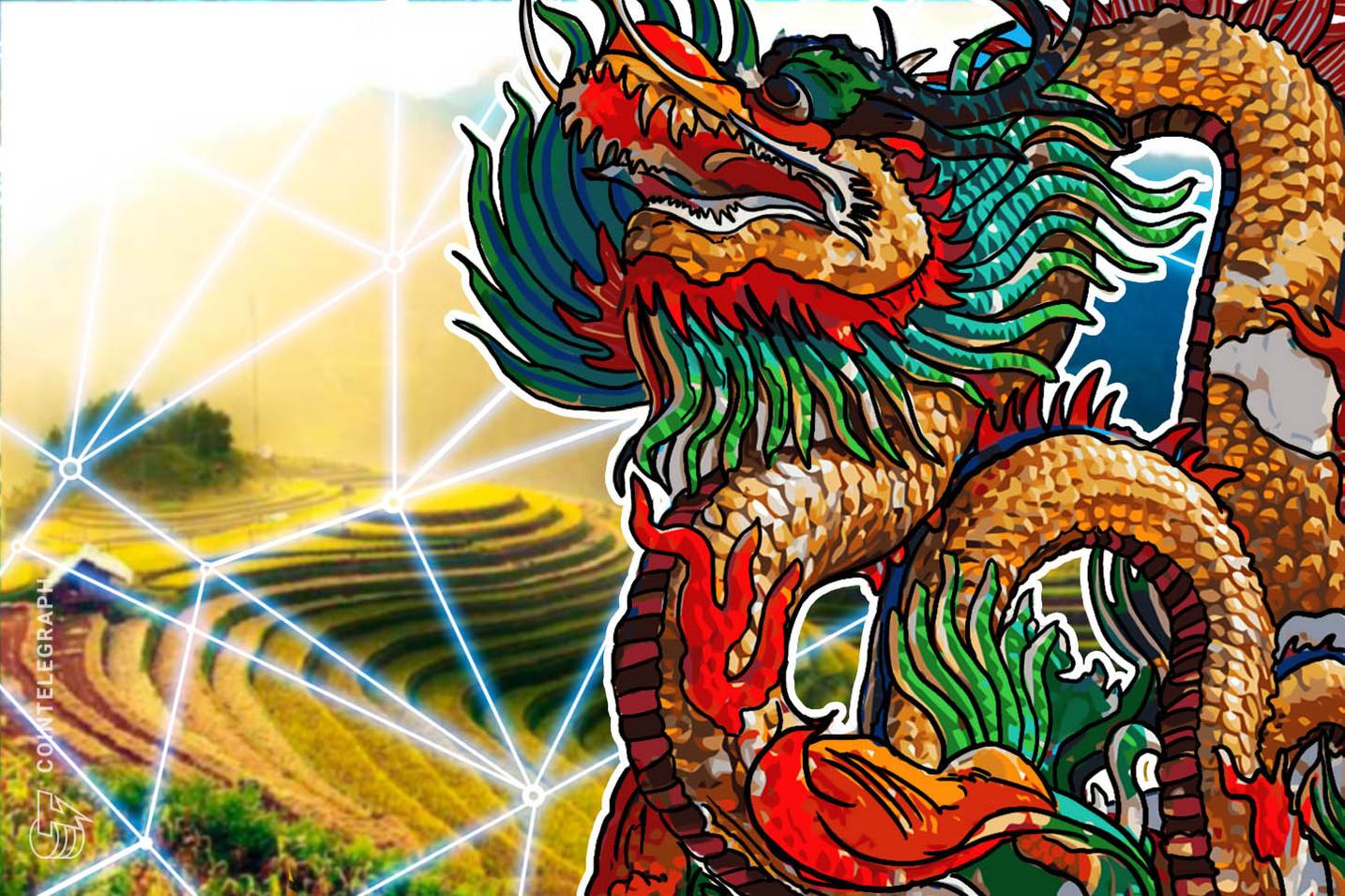 China: nueva guía para implementar blockchain en el sector de finanzas agrícolas