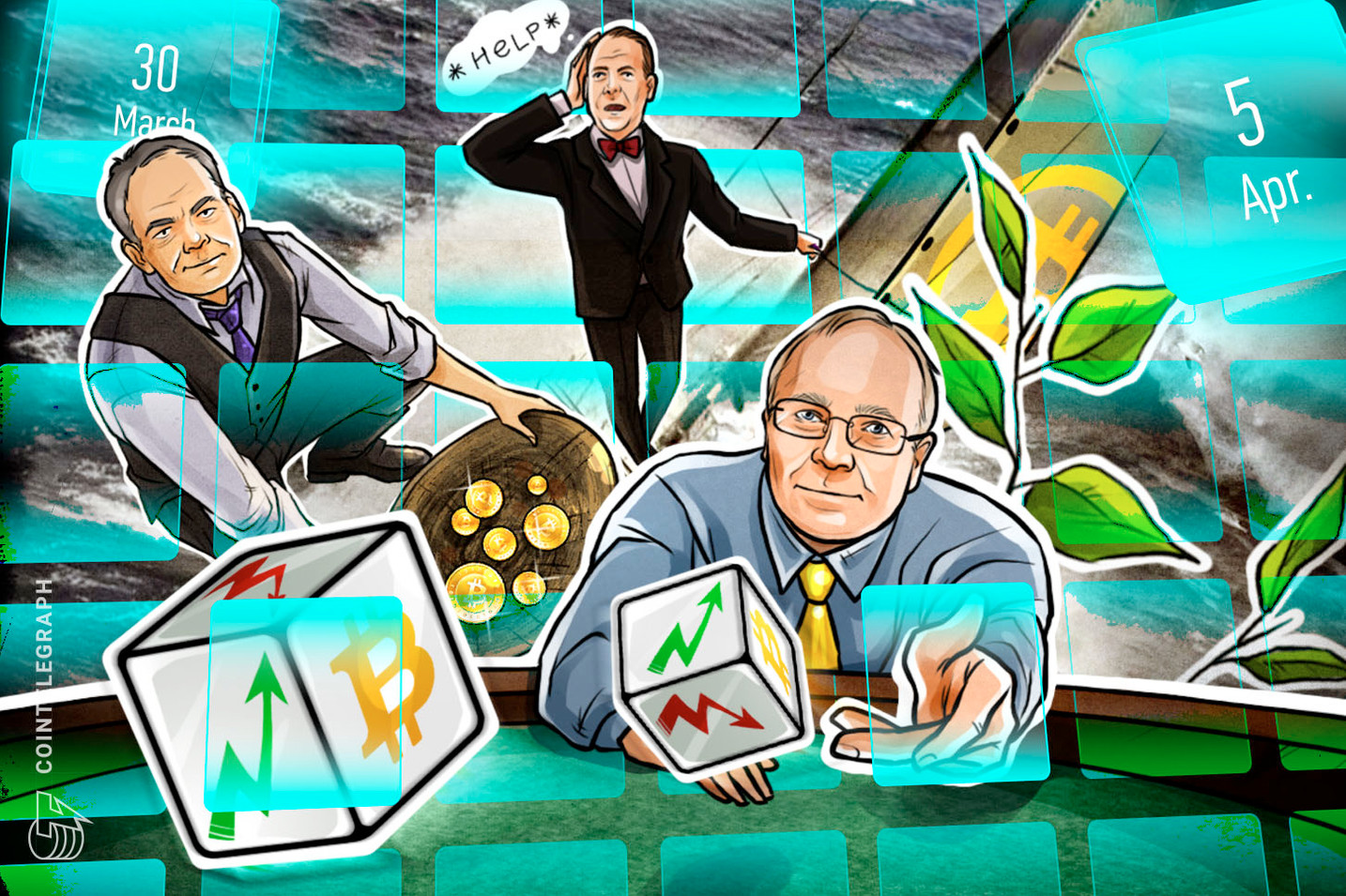 Bitcoin Threat, CoinMarketCap Bought, Trump Hint, Apple Rumor: Hodler's Digest, March 30–April 5