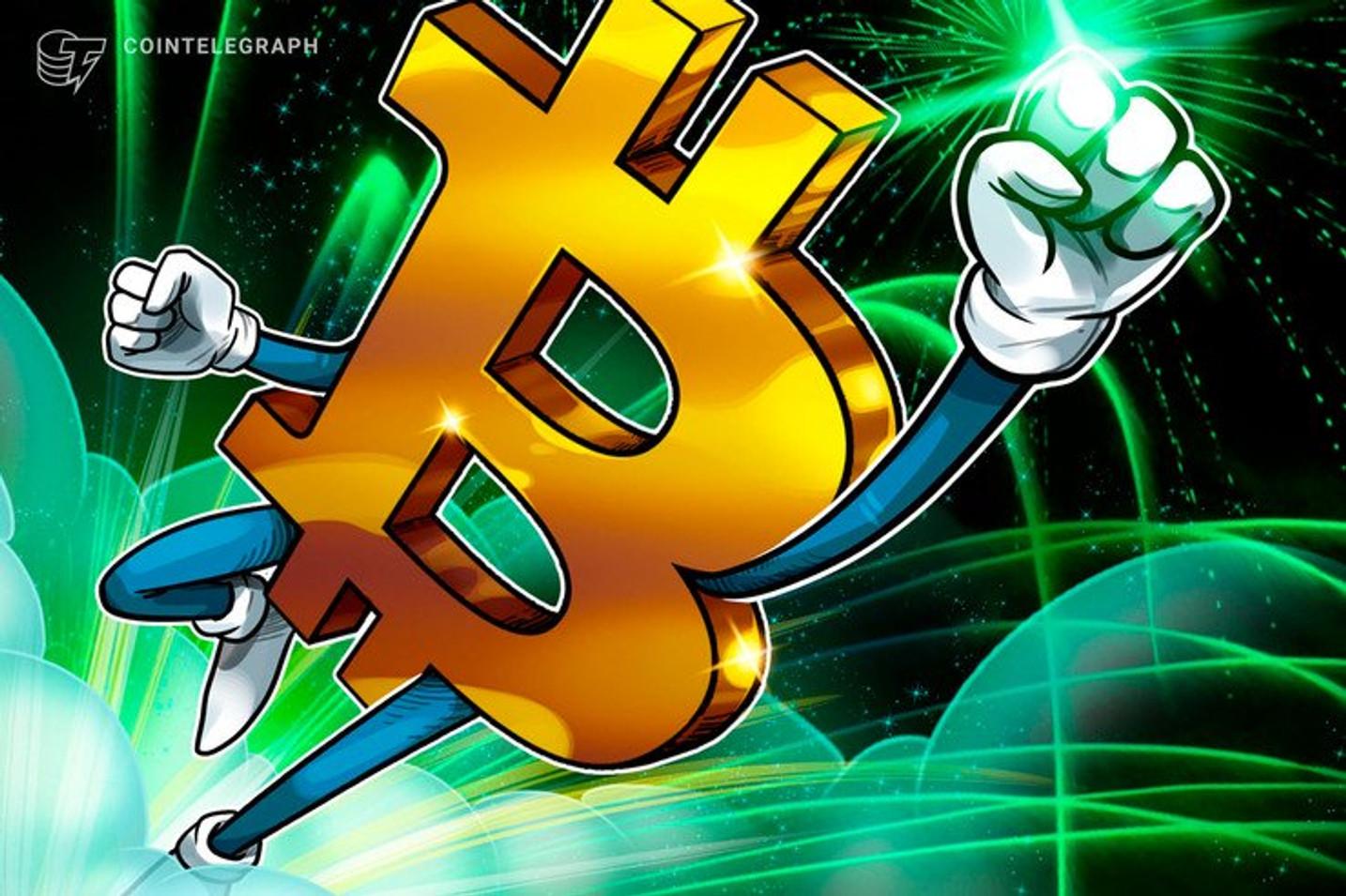 7000ドル突破の仮想通貨ビットコイン、次のターゲットは7200ドル