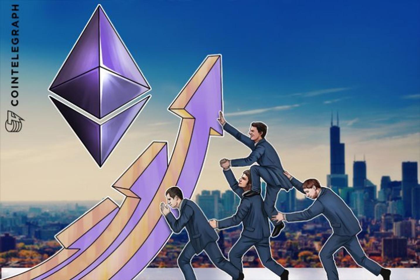 El Ethereum establece nuevo récord de rendimiento, cuotas estables