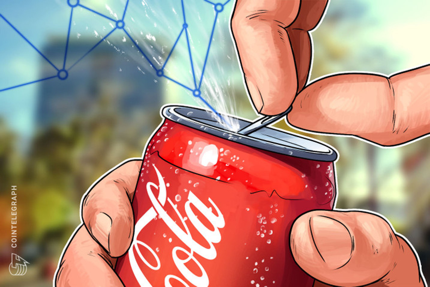 Bitcoin pode ser usado para comprar Coca-Cola na Austrália e na Nova Zelândia