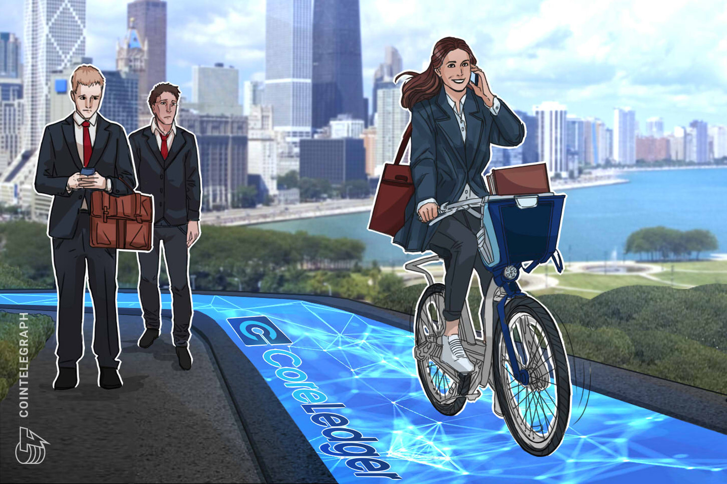Swiss Blockchain Firm Helps Dynamic Bicycle Parking Company Thrive