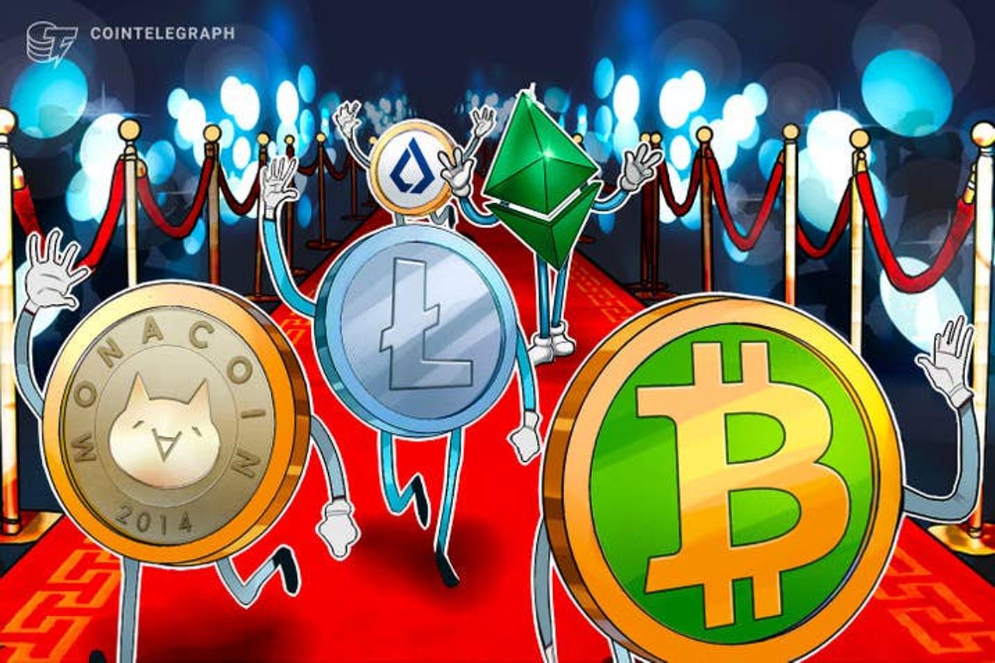 Interesse pelas oportunidades das altcoins cresce e roubam novamente a cena do Bitcoin