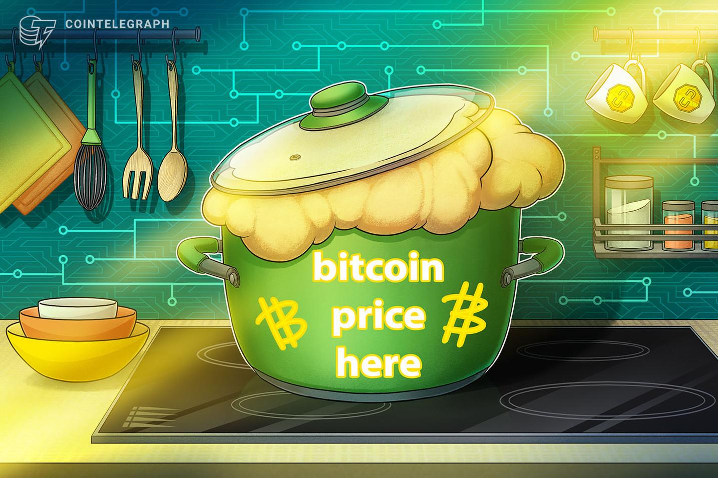Cena bitkoina je odskočila iznad 10.000 dolara sa novim pozitivnim sentimentom