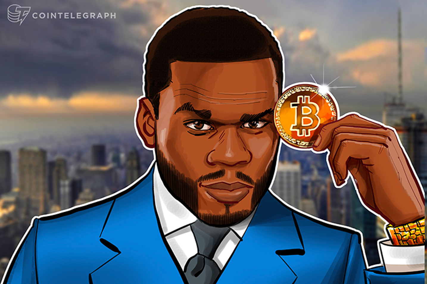 50 Cent Makes Millions Selling Album For Bitcoin