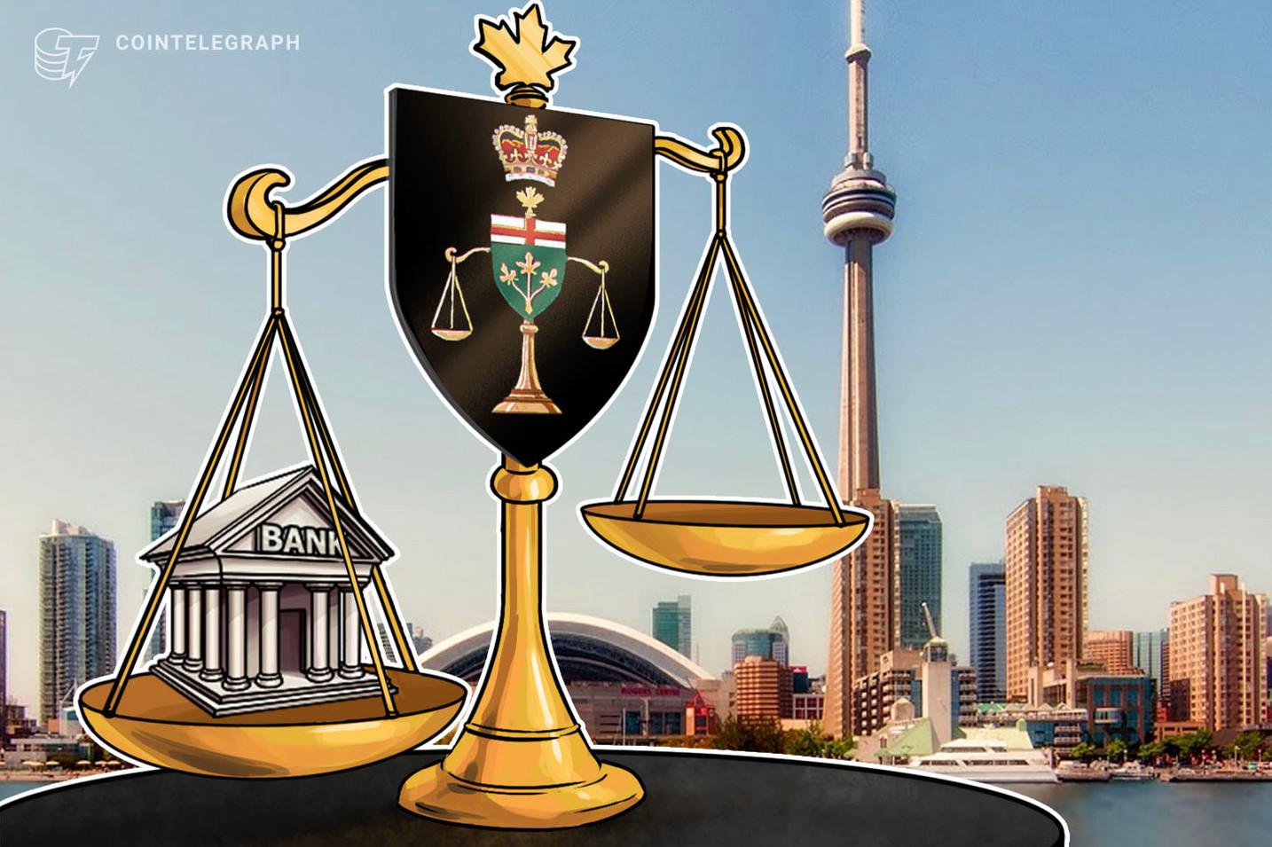 Juez falla a favor de un banco canadiense en disputa con criptobolsa