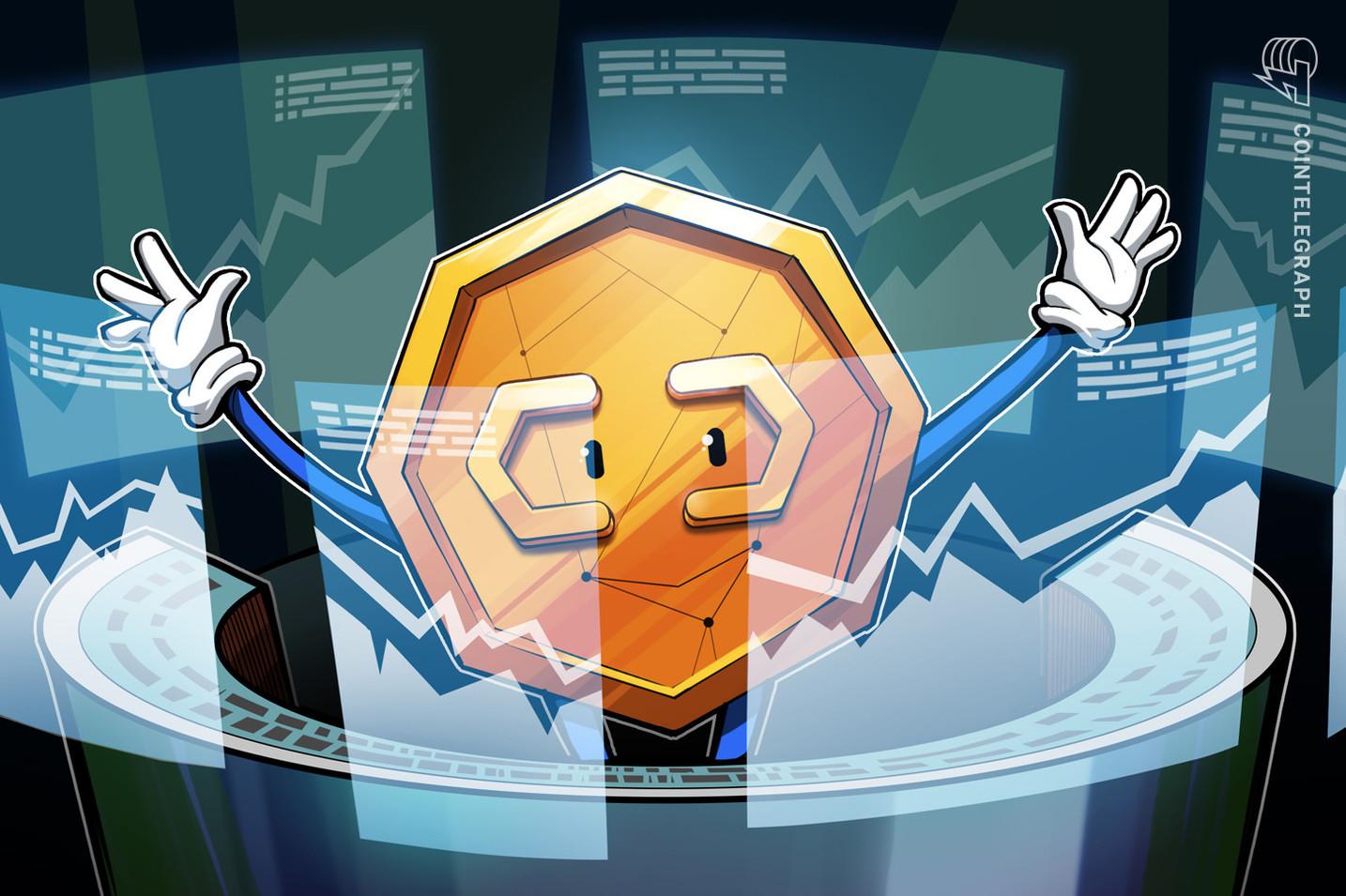 Três tokens se destacam nesta quarta-feira: DOGE, CHZ e AAVE