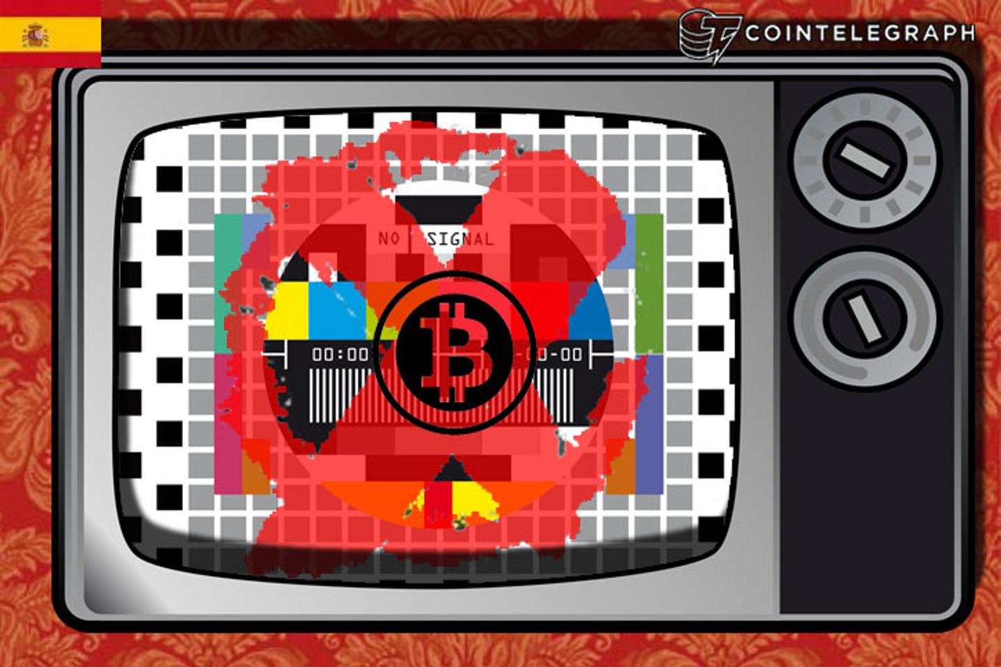 """Bitcoin el """"malo"""" de la tele."""