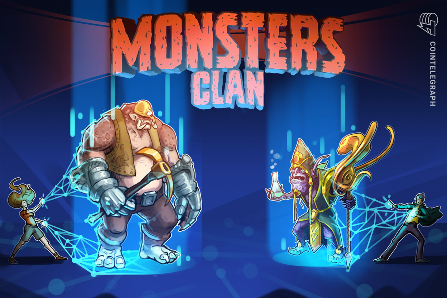 First-ever third-person NFT game allows users to play, collect, train and trade their Monsters