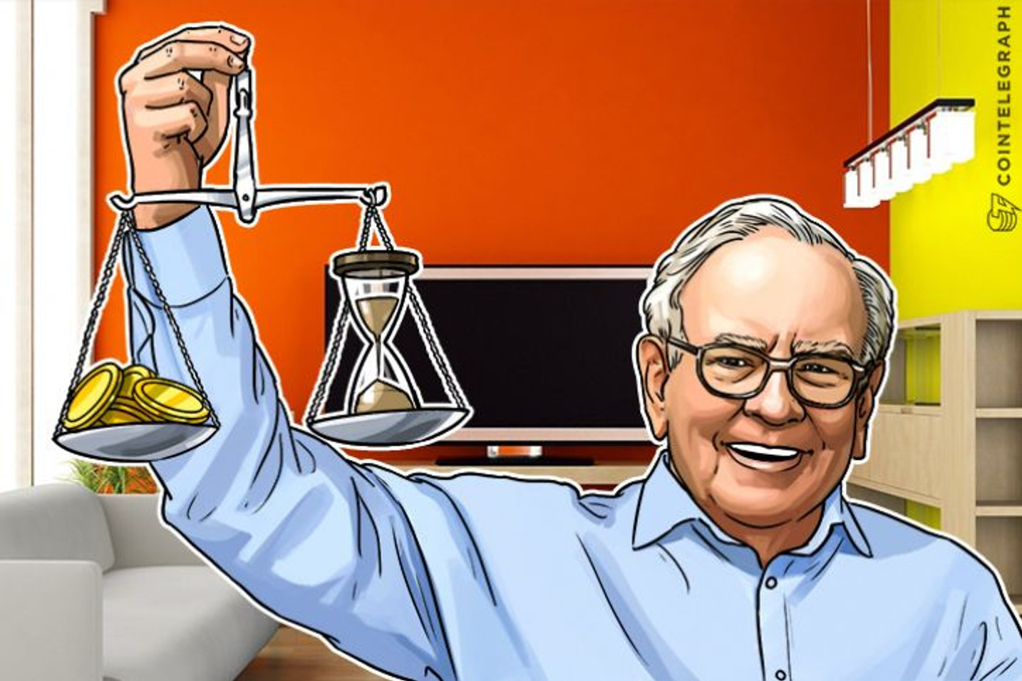 Warren Buffet's Berkshire Hathaway Collides With Blockchain at Omaha Conference