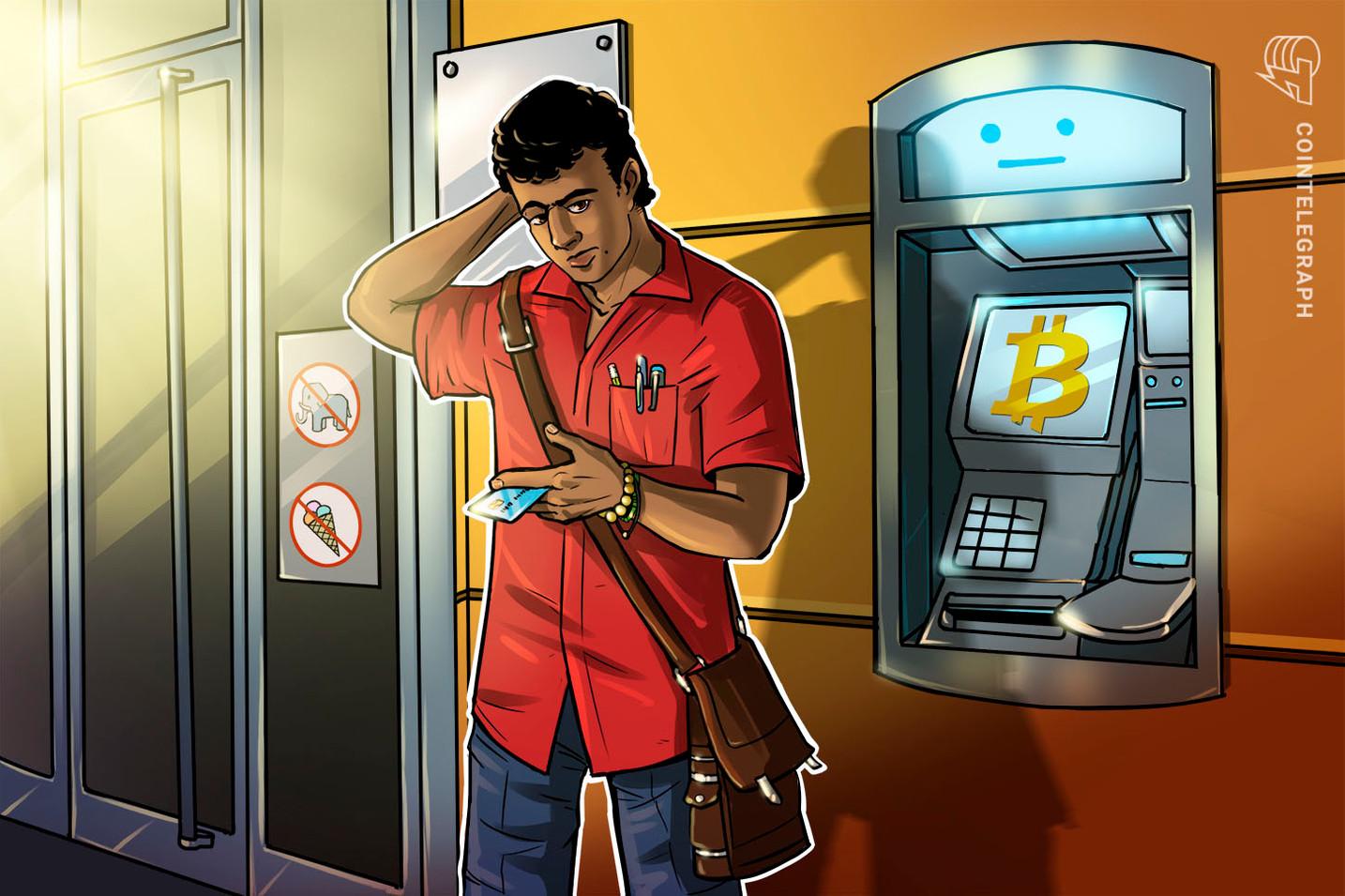 Investigadores criminais do IRS analisam caixas eletrônicos e quiosques de Bitcoin
