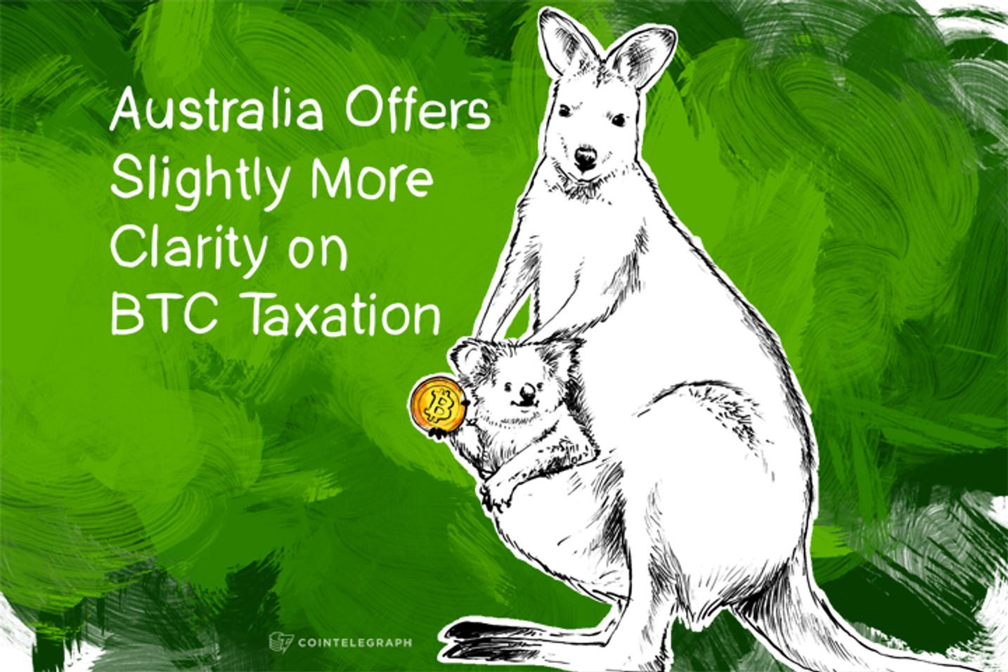 Australia Offers Slightly More Clarity on BTC Taxation