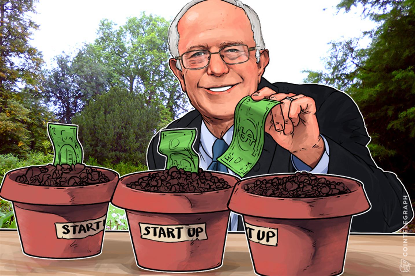 What if Bernie Sanders Had Raised Money for Blockchain Startups Instead