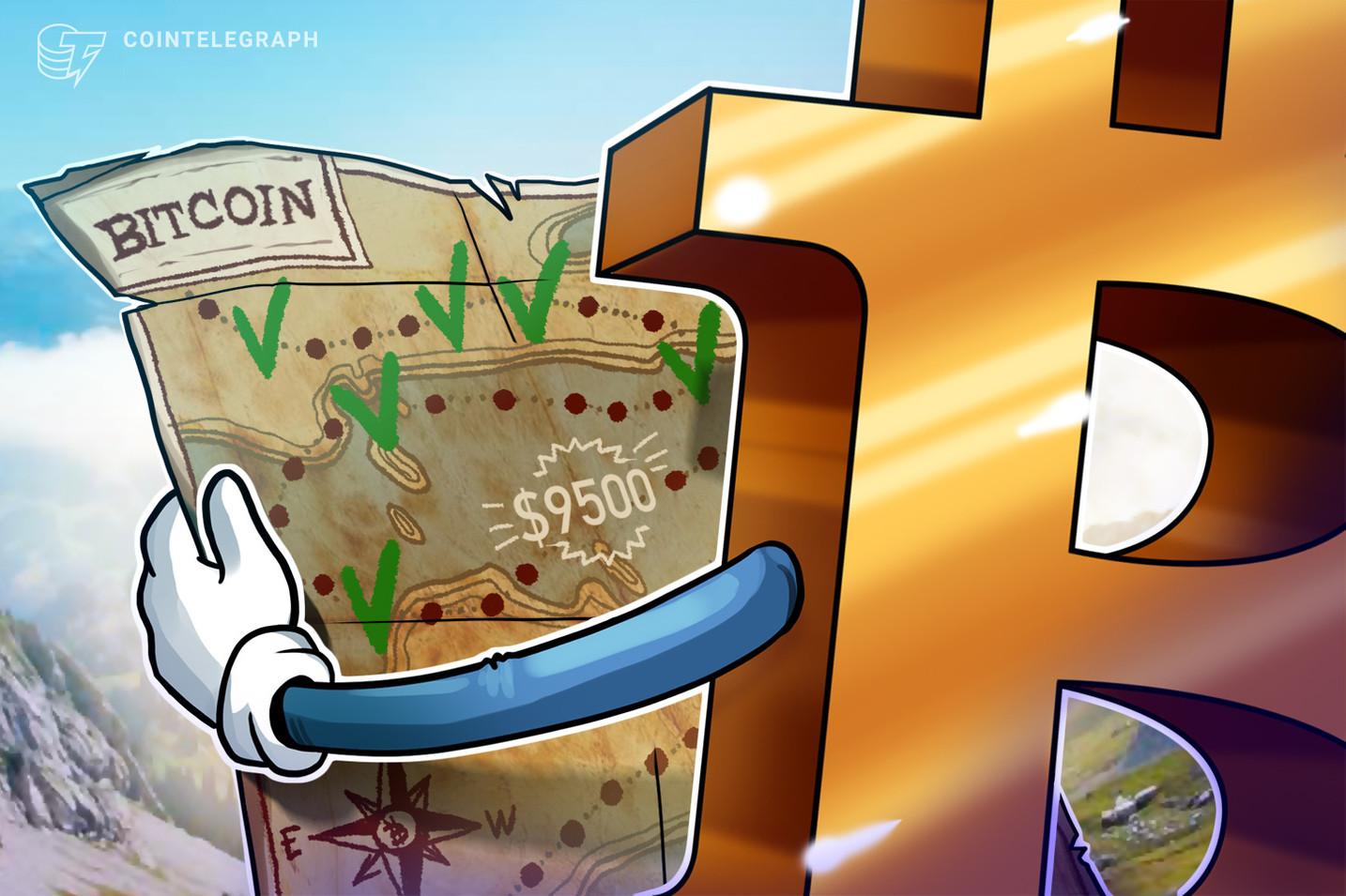 Algunos traders de Bitcoin se vuelven bajistas, ¿Por qué $9,500 es un problema?