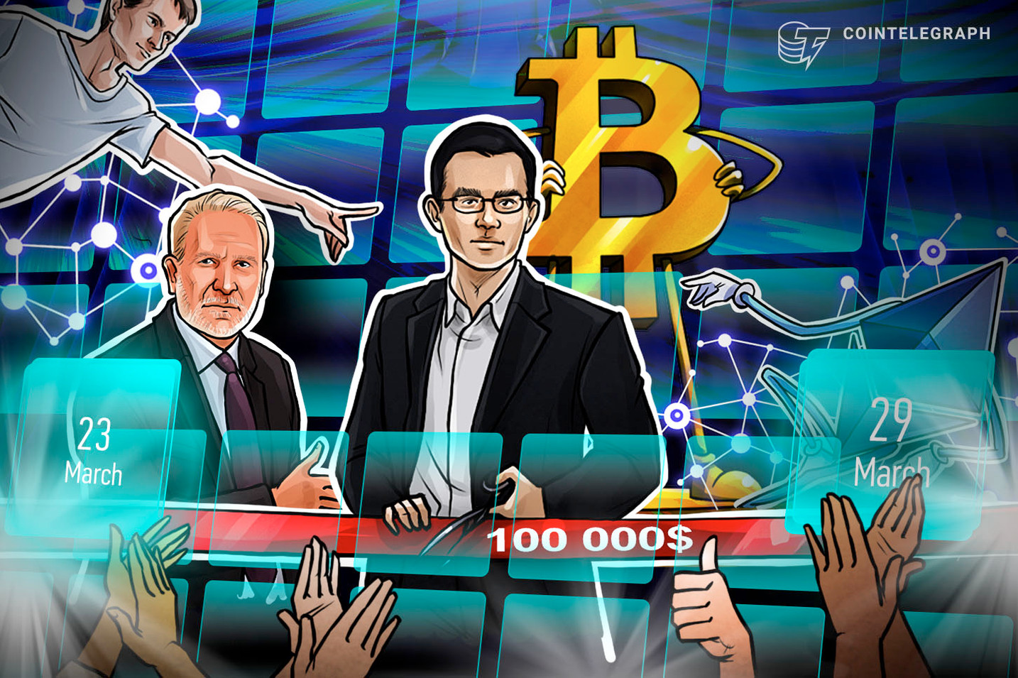 BTC Worries, Buterin 'Embarrassed,' Blockchain Fights Coronavirus: Hodler's Digest, March 23-29