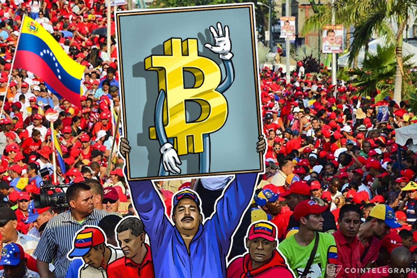 Venezuelans Rely on Bitcoin to Survive, Disregard Fiat Completely