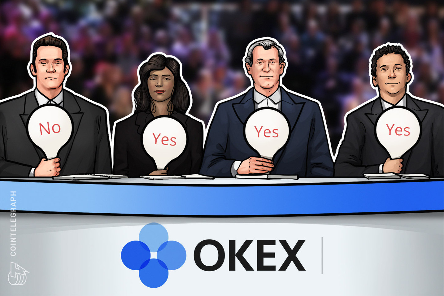 Large Crypto Exchange Invites Users to Vote on Token Listing Proposals