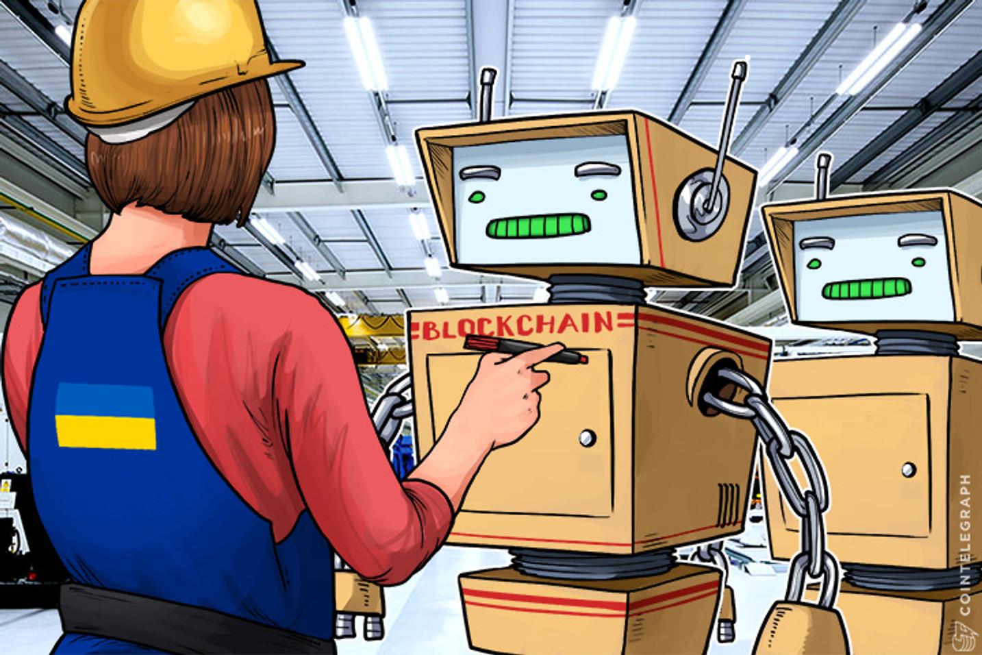 A Ucrânia Usará Blockchain Em Transferências De Terra