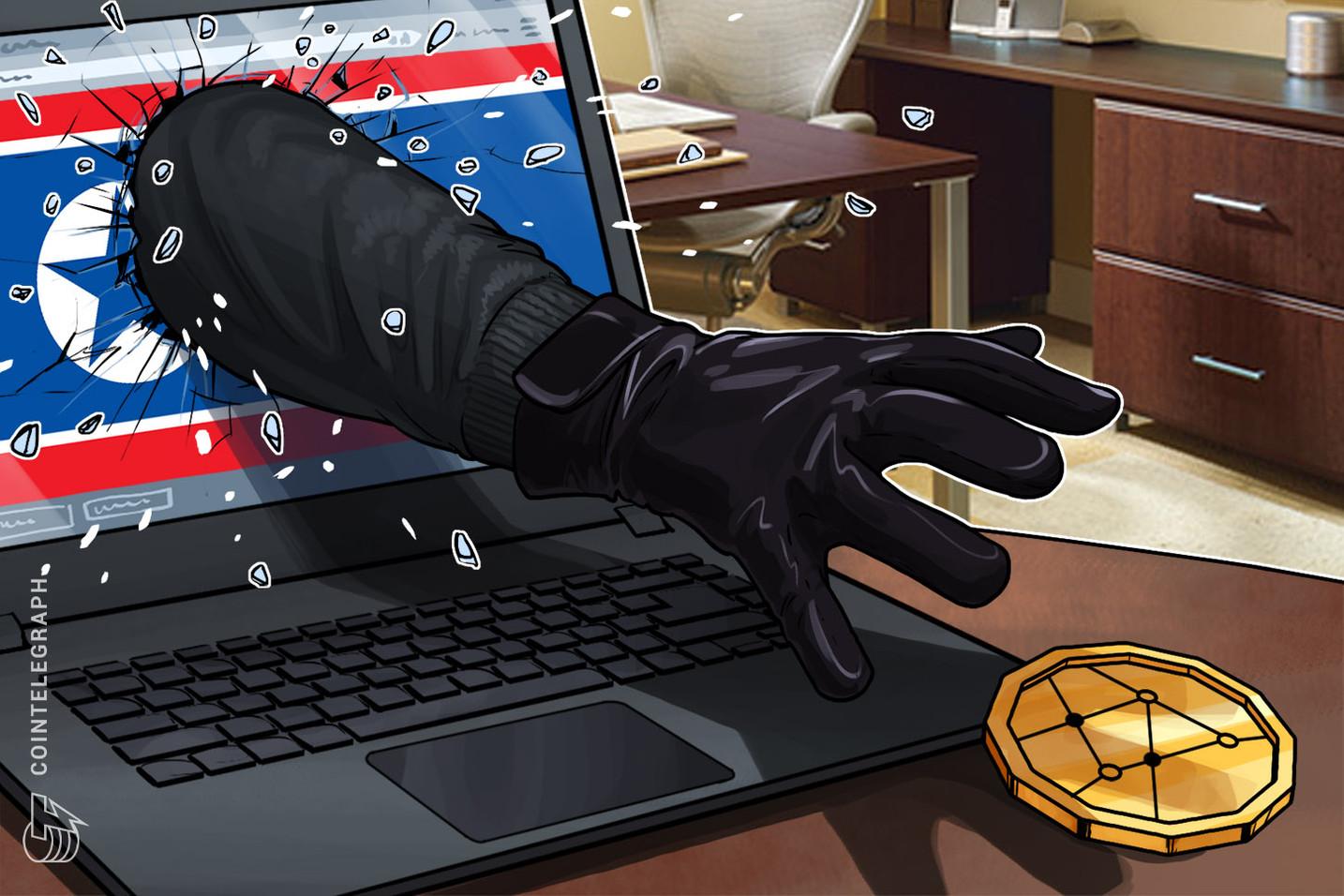 Relatório: hacks patrocinados pela Coreia do Norte abrangem 65% do total de criptomoedas roubadas