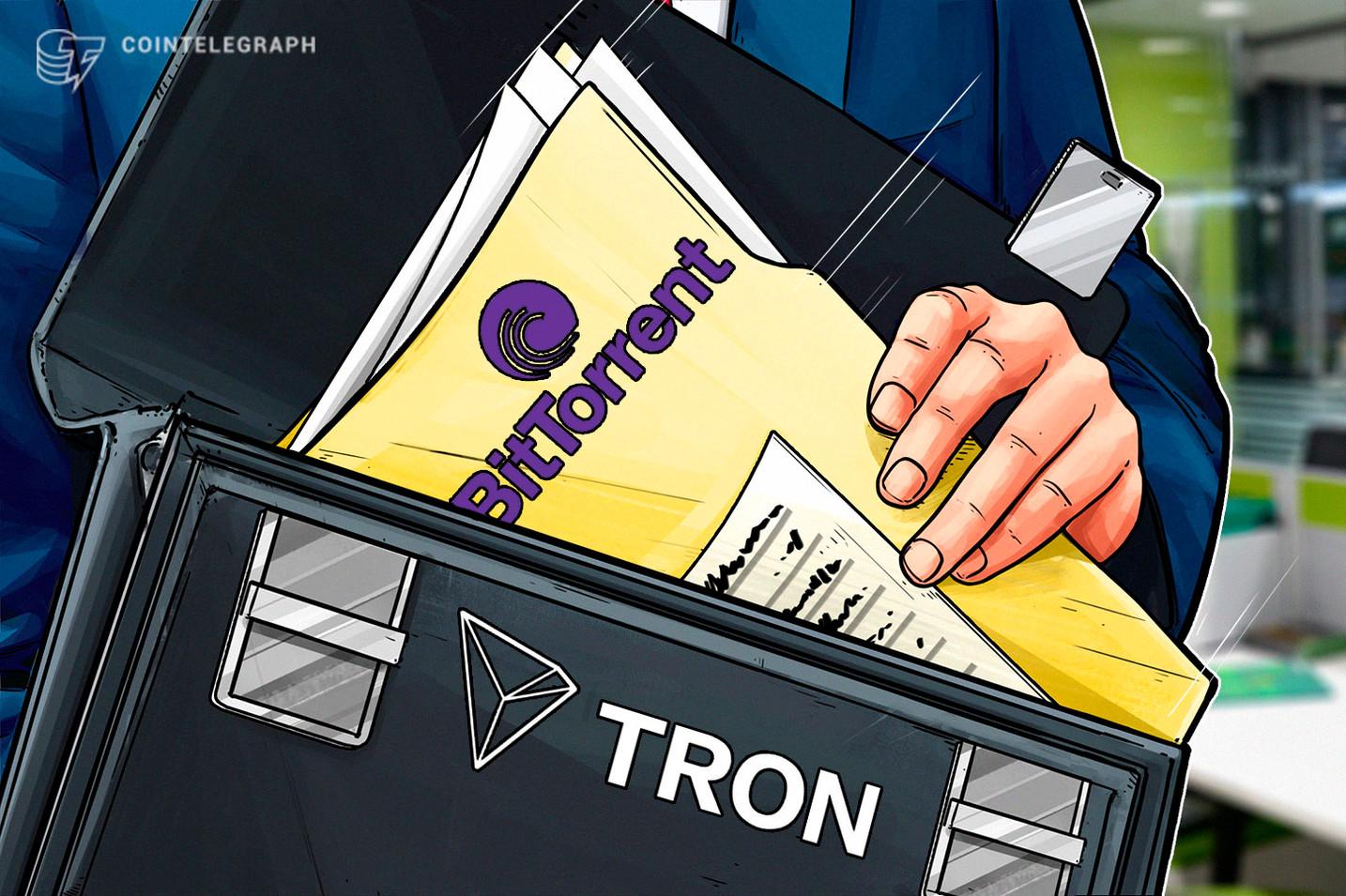 Confirmado: TRON adquiere el operador de la plataforma P2P principal BitTorrent