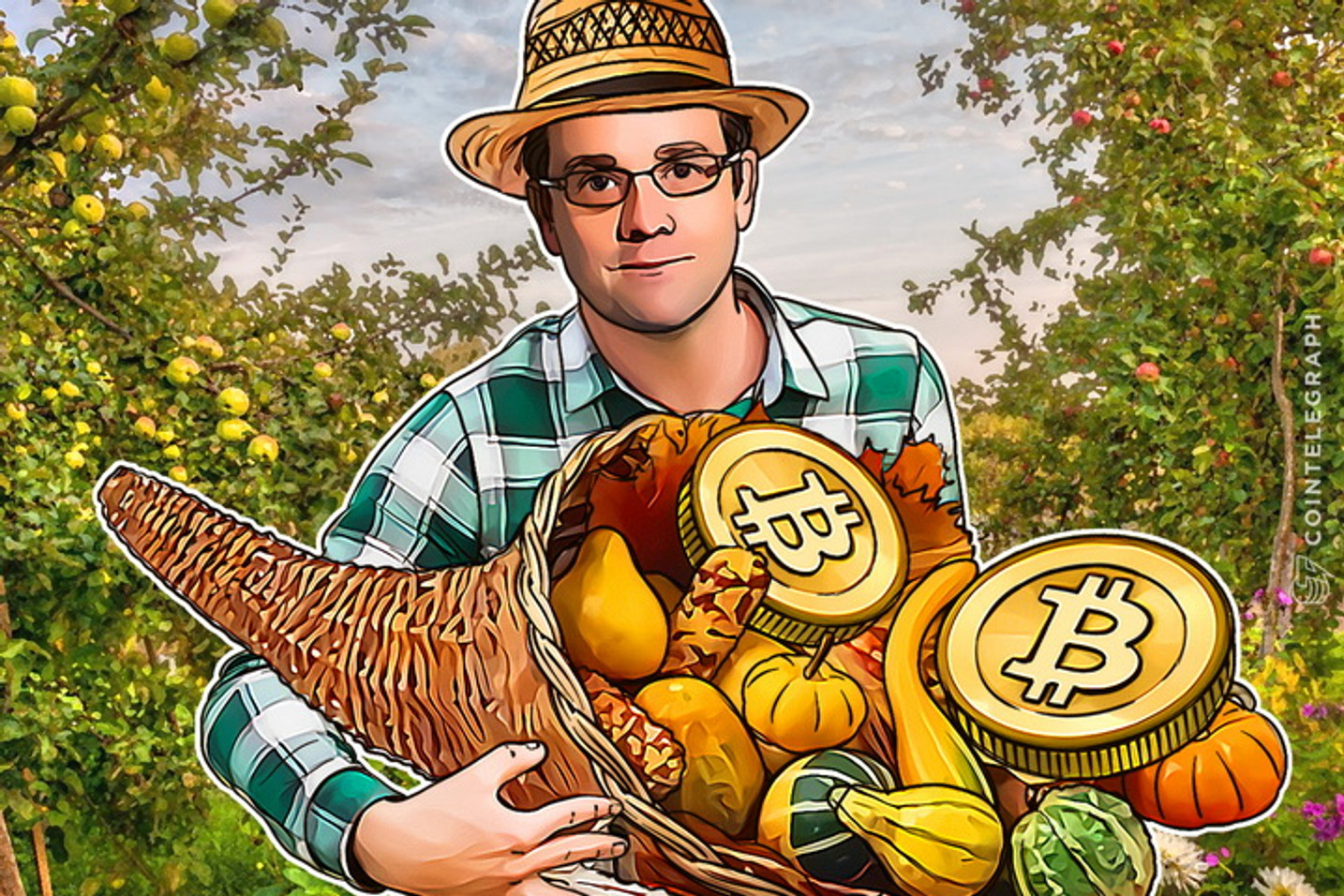 Bitcoin Farm to Table: Farmers Markets for Bitcoin Through Overstock
