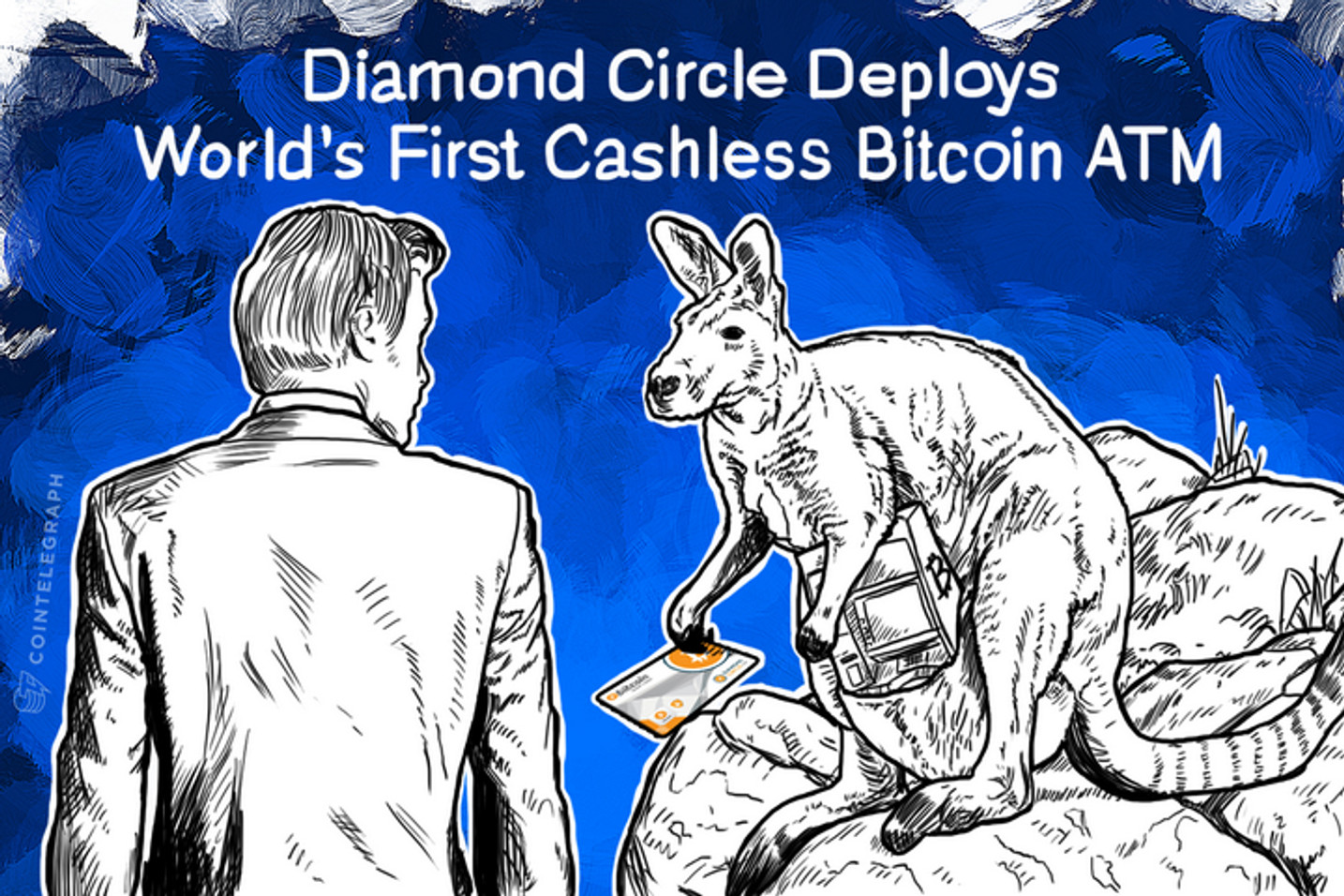Diamond Circle Deploys World's First Cashless Bitcoin ATM