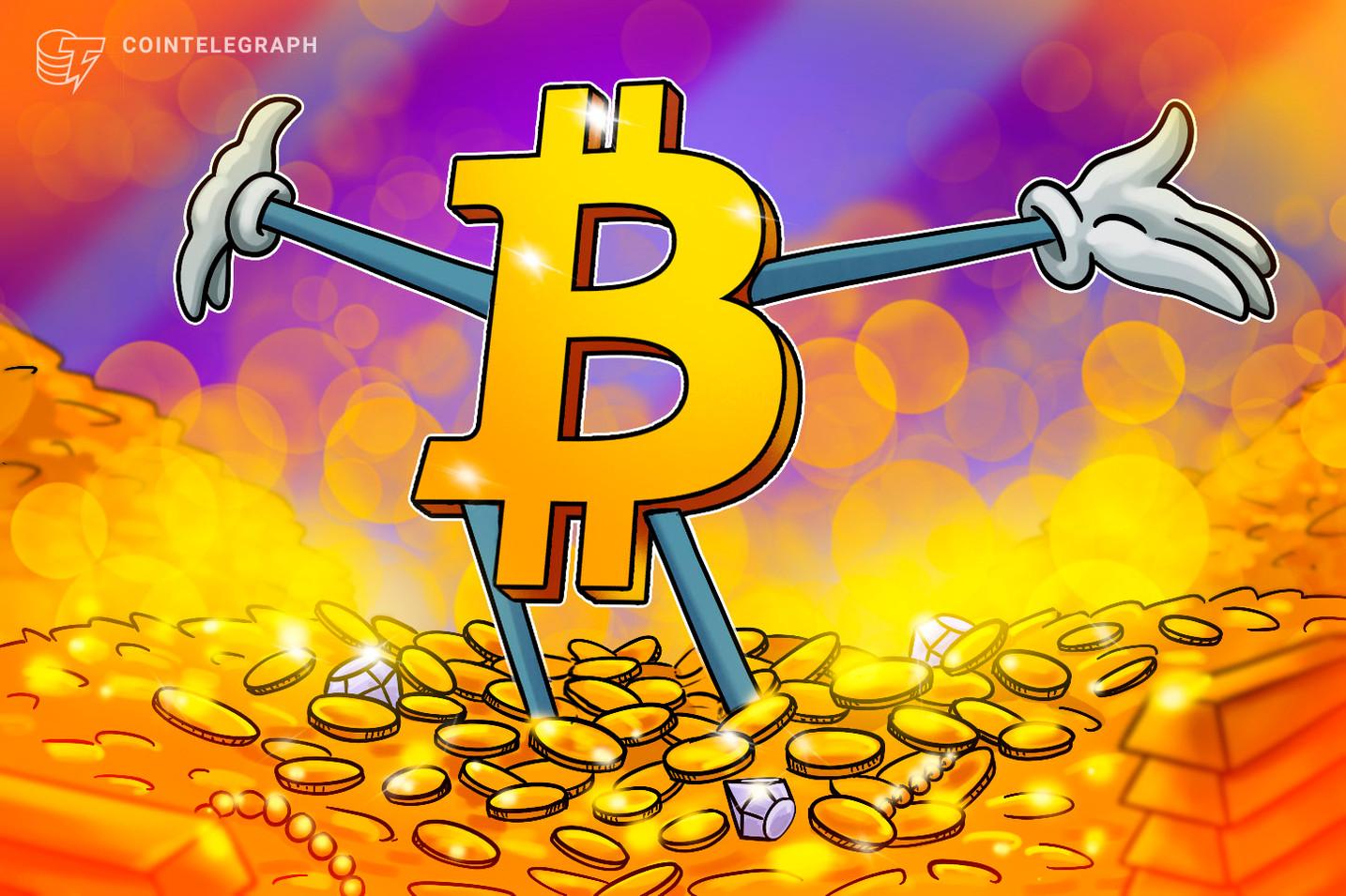 仮想通貨ビットコインは「金よりも優れている」、ブルーバーグアナリストが分析