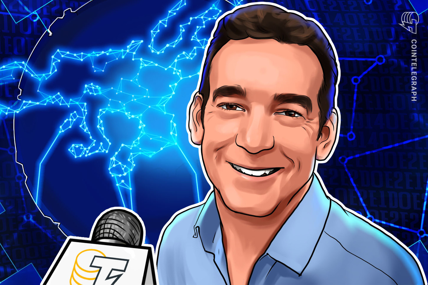 Marc Taverner Speaks on His New Role as European Blockchain Director
