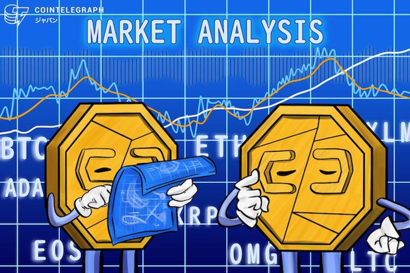 ビットコイン相場は方向感に欠ける展開、L/S比率の変動に注意|仮想通貨相場市況(4月9日)