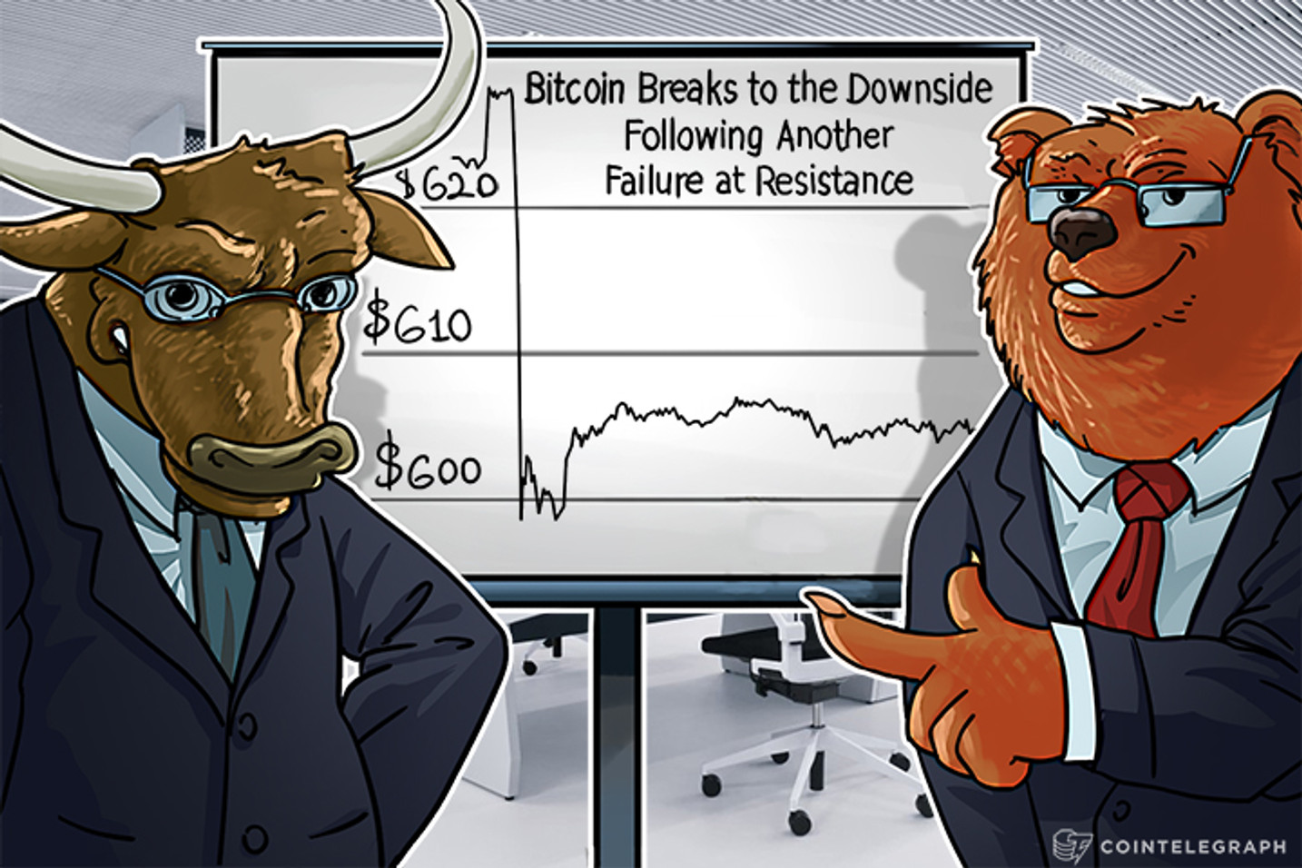 Bitcoin Breaks To The Downside  Following Another Failure At Resistance