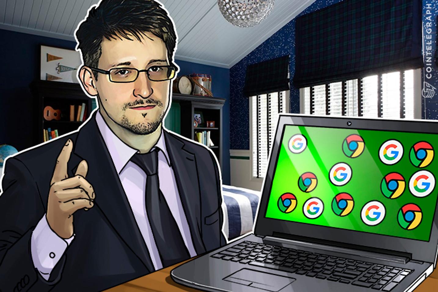 "Snowden: Don't Use Google Allo ""Encrypted"" Messenger"