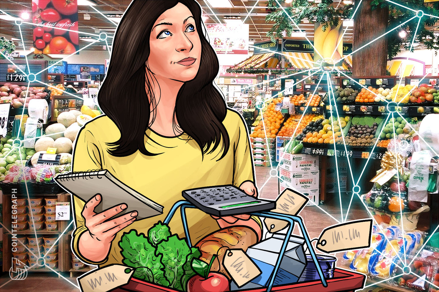 WWF lança ferramenta blockchain para rastrear alimentos ao longo da cadeia de suprimentos
