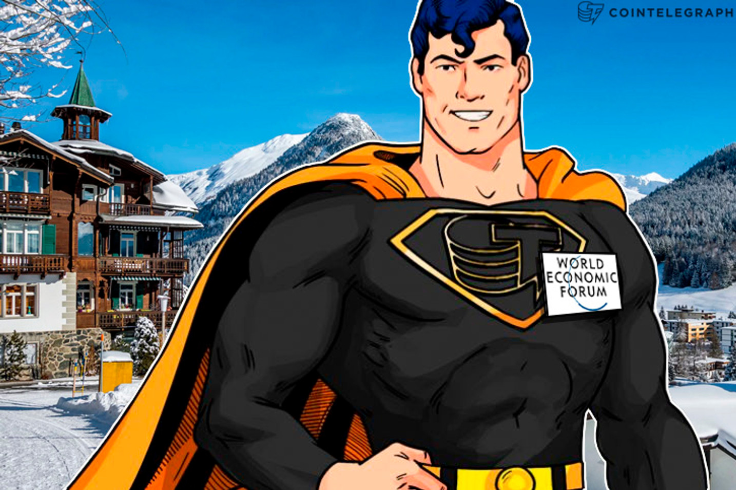 Cointelegraph Heads To Davos For WEF, Partners With Tech Tuesday Event