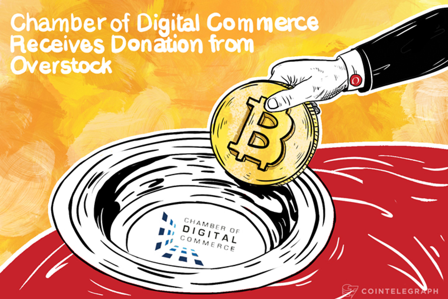 Chamber of Digital Commerce Receives Donation From Overstock