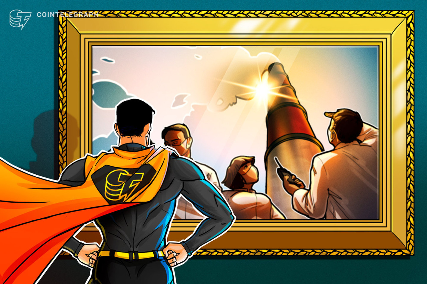 Review: Cointelegraph-Inspired Climate Change Art Exhibition