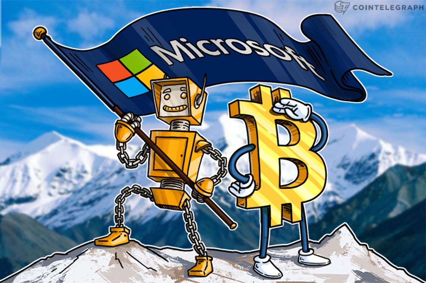 مايكروسوفت تعتزم تنفيذ نظام تعريف يستند إلى بلوكتشين