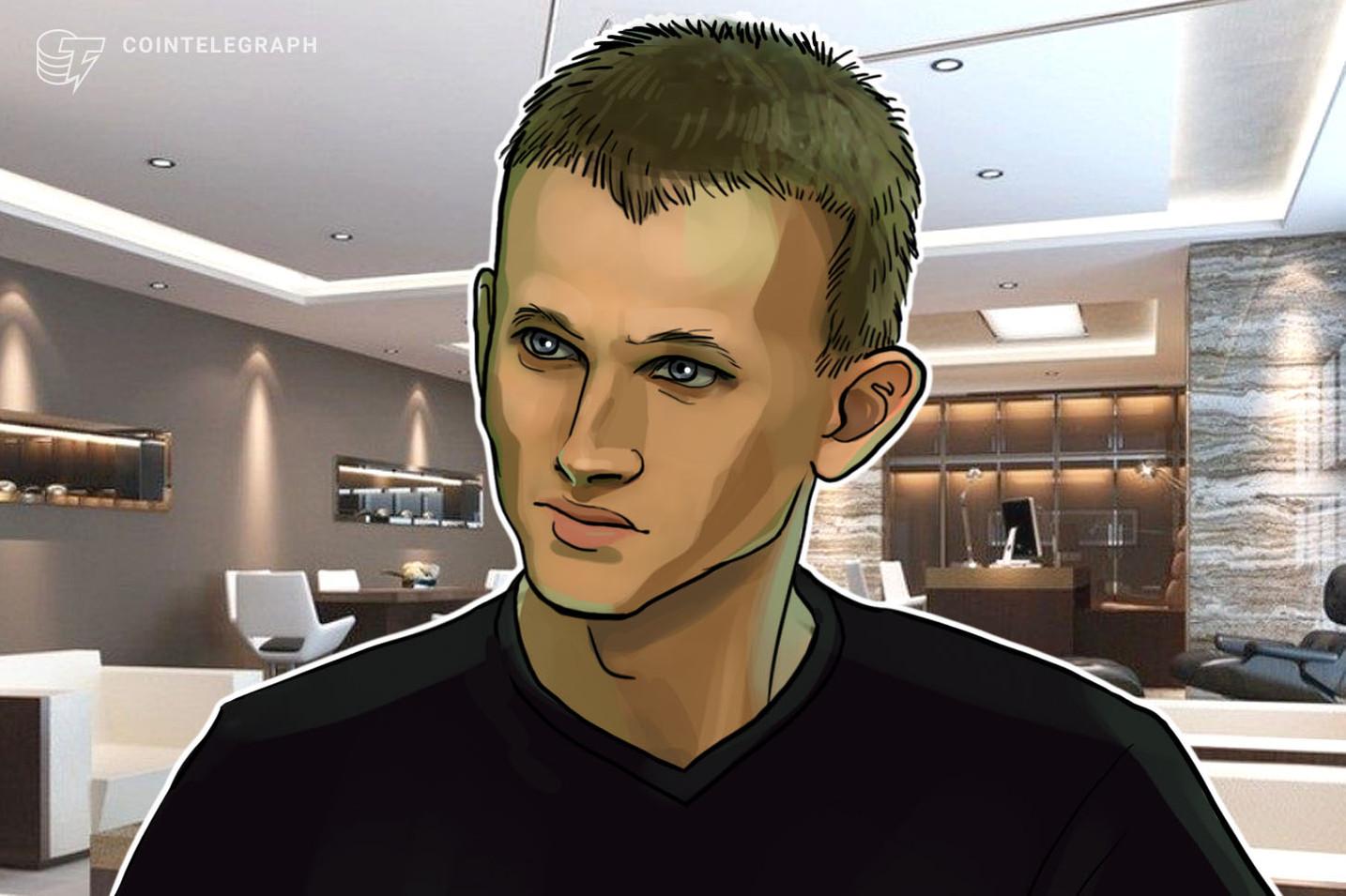Criador do Ethereum, Vitalik Buterin diz que moedas fiduciárias e criptomoedas devem coexistir