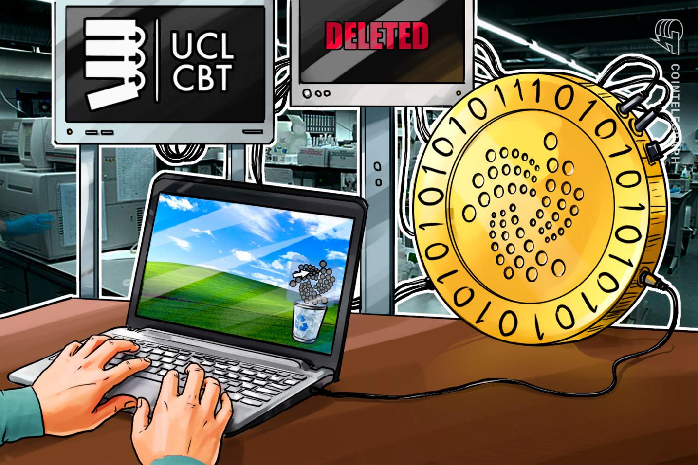 University College London stoppt Zusammenarbeit mit IOTA Foundation