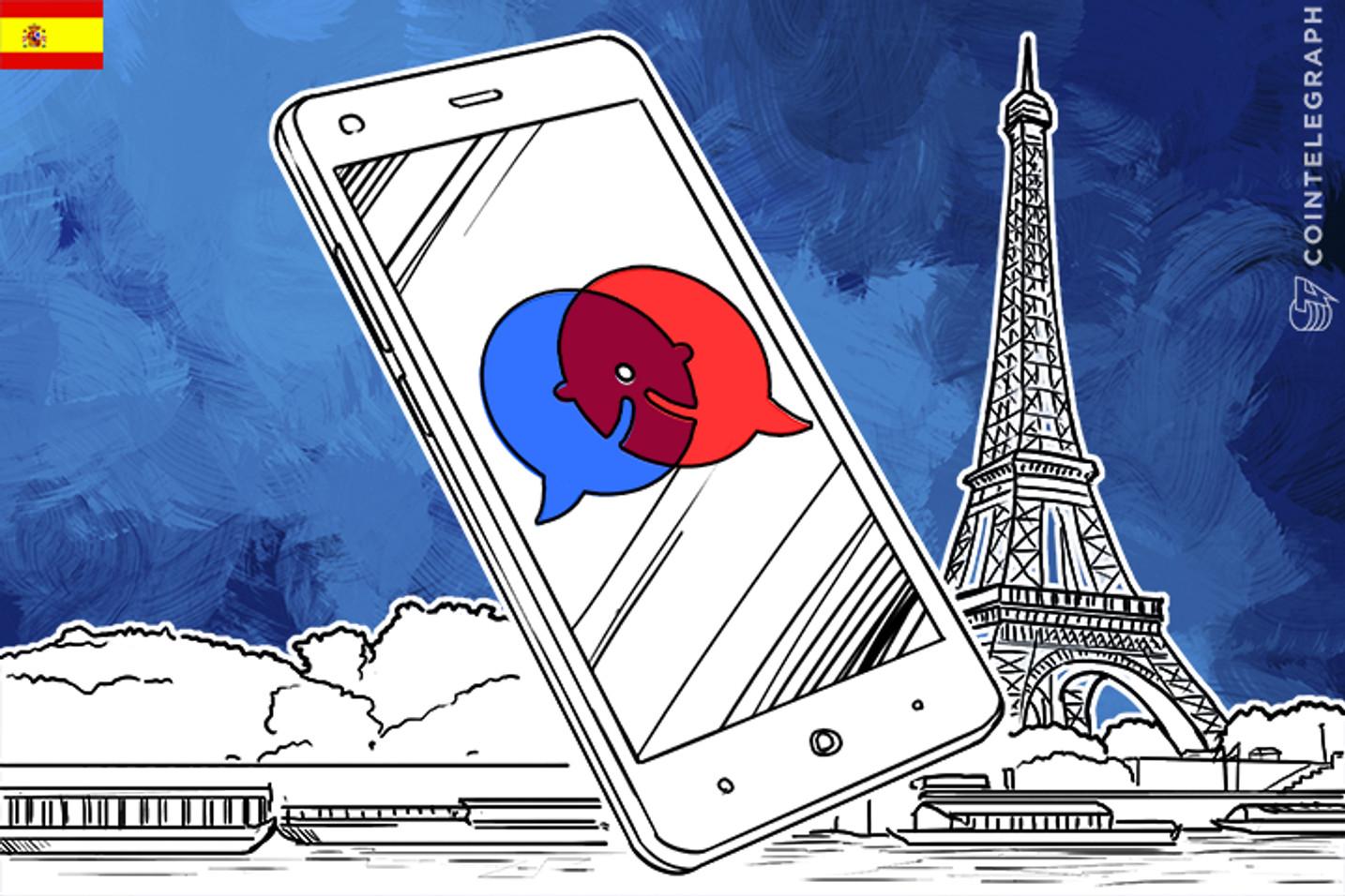 """Falciani presenta KeePy-I en el evento """"Estados Generales de la Revolución Digital"""" en París"""