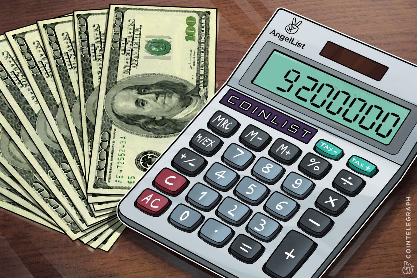 Regulation-Friendly Token Sale Platform CoinList Raises $9.2 Mln In Initial Funding Round