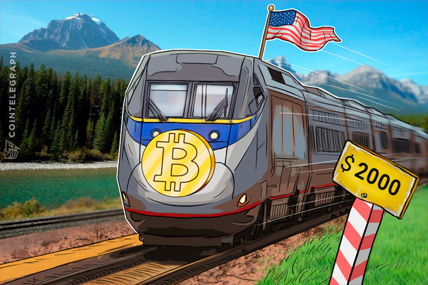 Bitcoin Price at $1,934 All-Time High, Led by US, to Reach $2,000 Soon