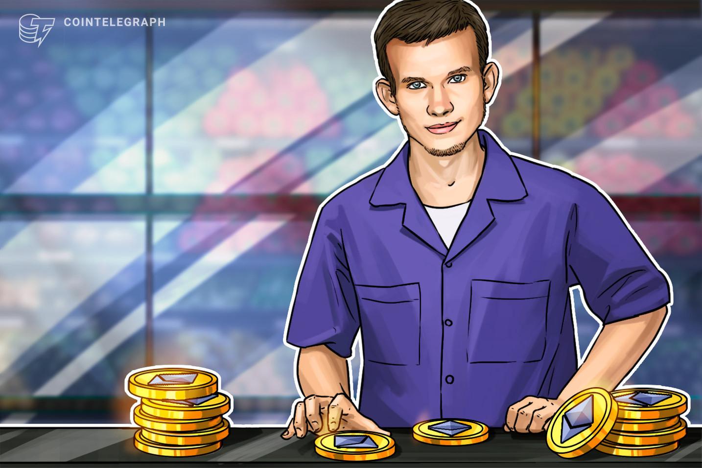 Ethereum: Fears Vitalik Buterin Selling 90K ETH as $25M Hits Exchanges