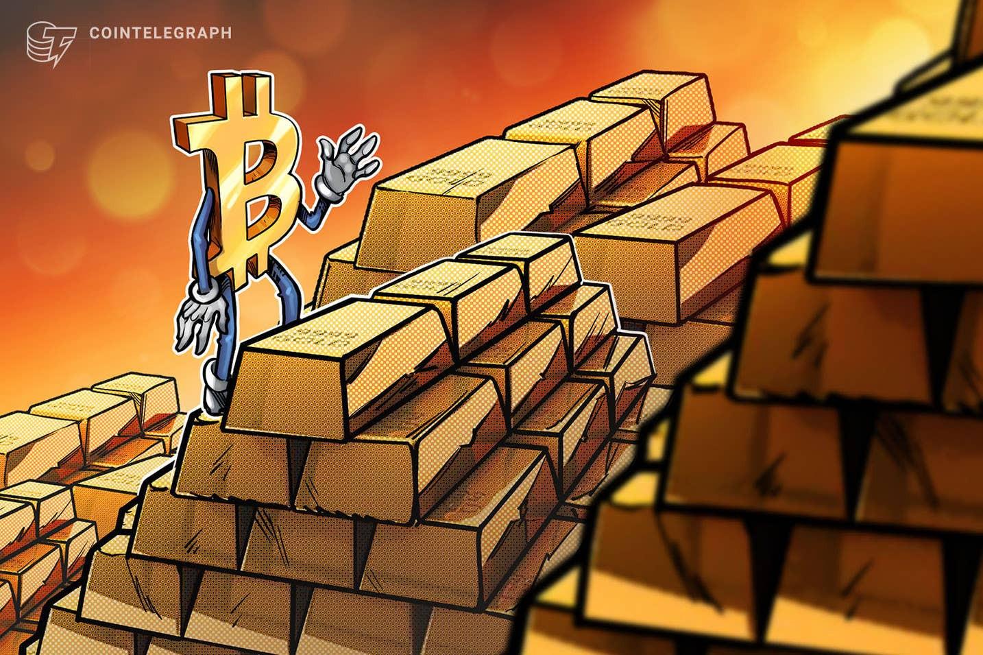 Bitcoin descola do ouro e do mercado de ações e se fortalece como melhor investimento em tempo de incertezas globais