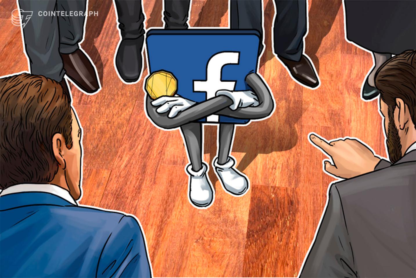 Facebook é processado por suposto plágio no logotipo de wallet do projeto Libra