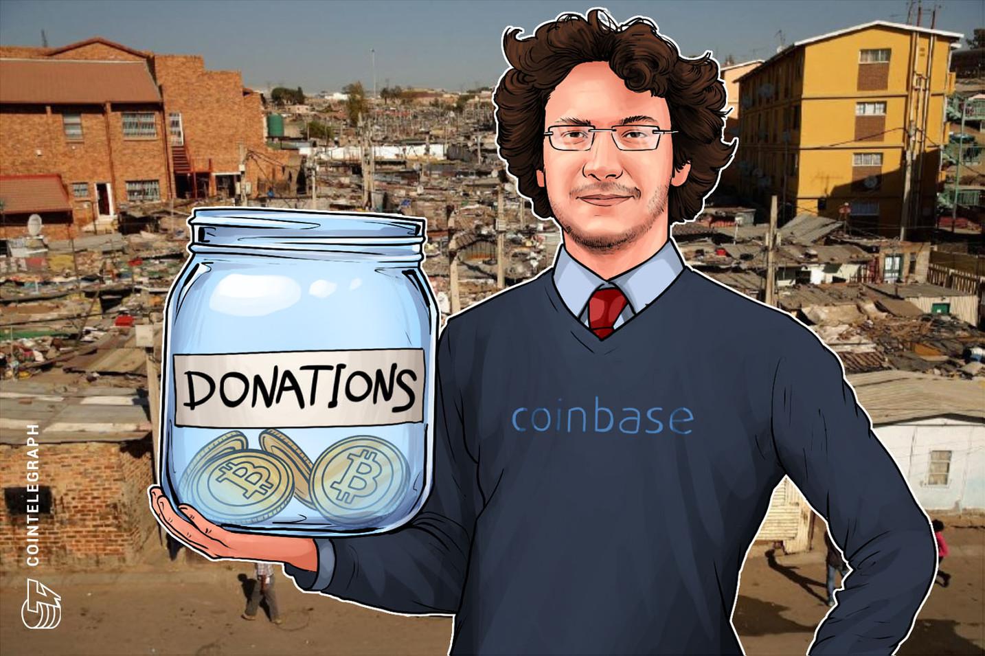الرئيس التنفيذي لشركة كوين بيز يُطلق مبادرة خيرية لمساعدة الناس في الأسواق الناشئة