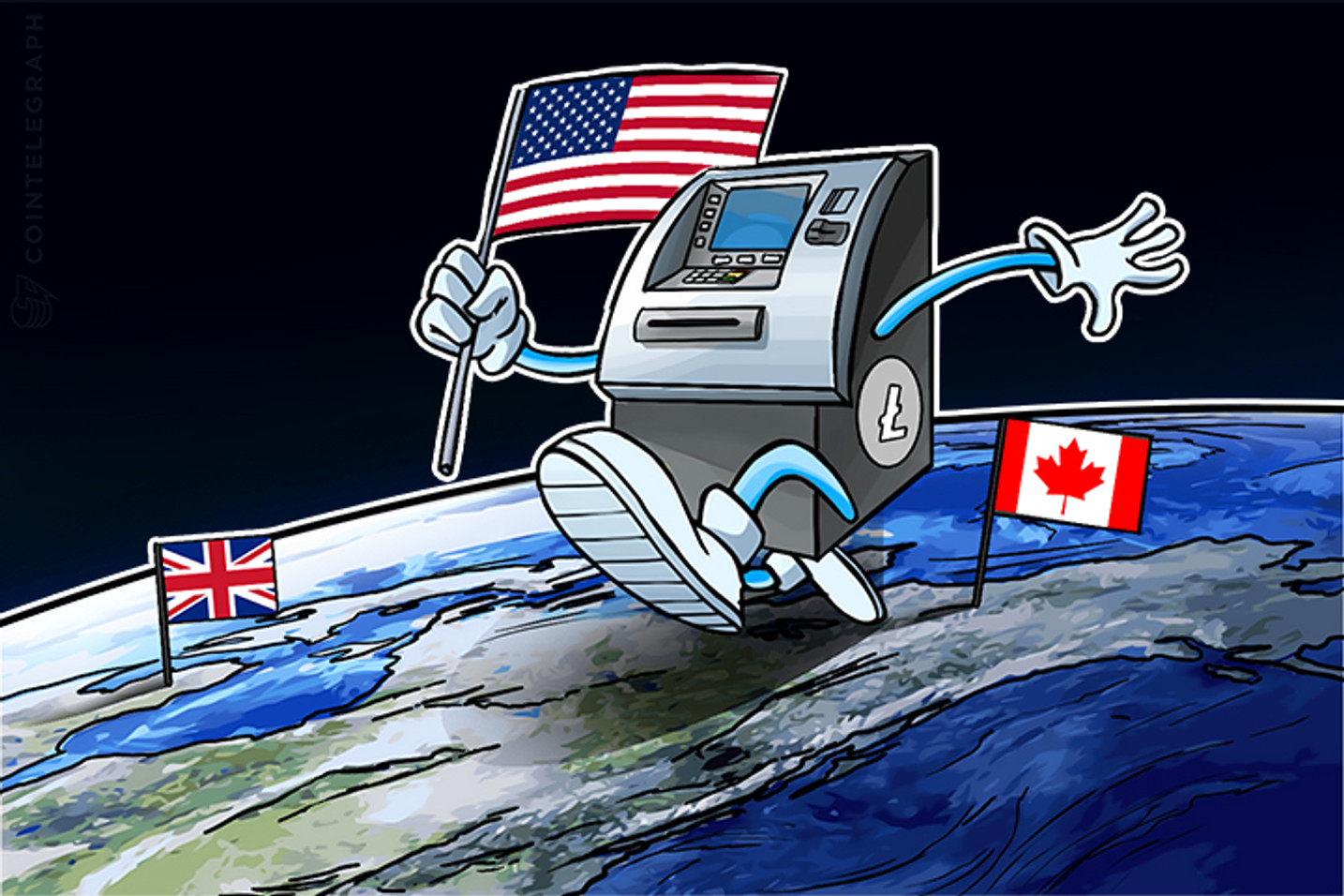 Litecoin Terminals Pop Up Across US, UK and Canada Amidst Surging Demand