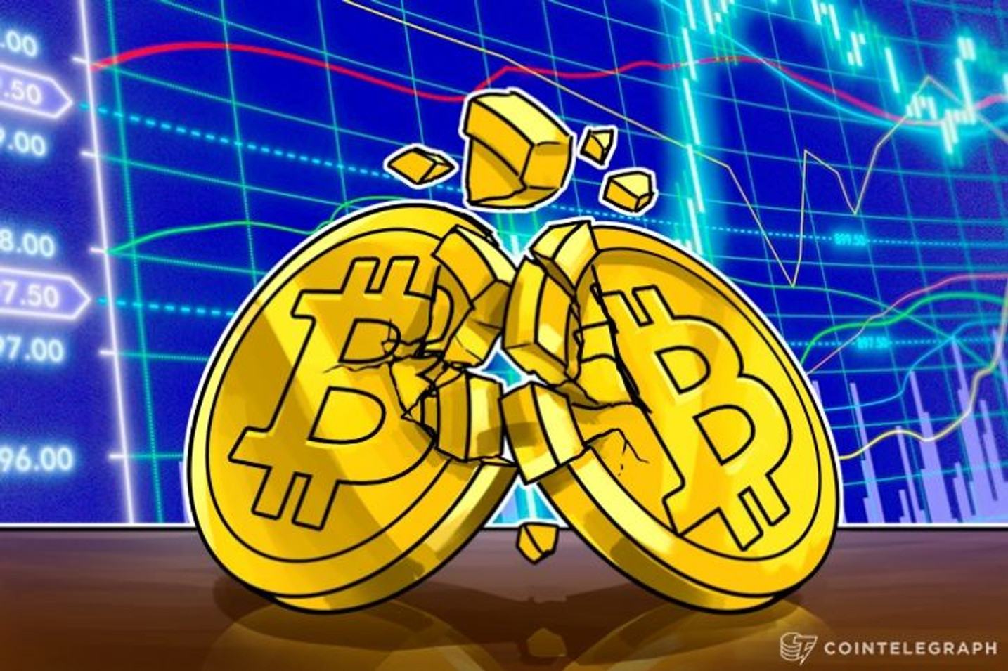 Bitcoin's Price Declines Anew, Hits Three-Week Low