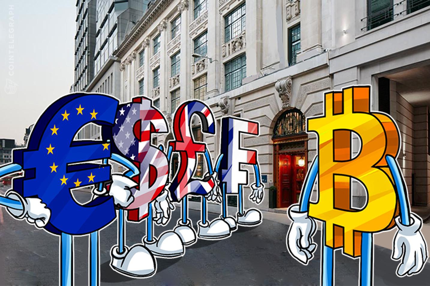 Aquí está cómo el dinero fiduciario del mundo afecta el precio de Bitcoin